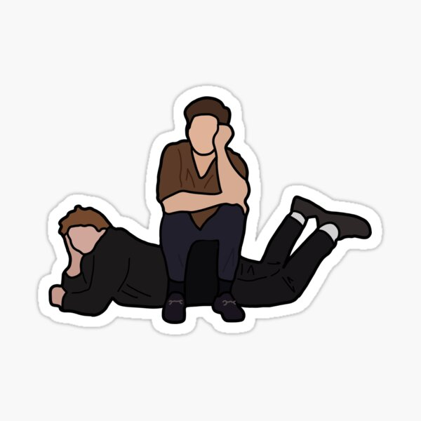 Lewis & Niall Duo Sticker