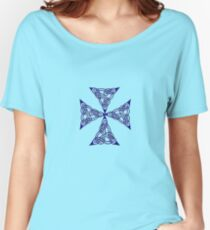 "Lindisfarne ""St John's Knot"" Tattoo Women's Relaxed Fit T-Shirt"