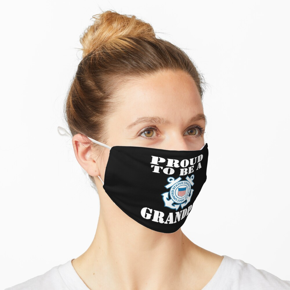 Proud To Be A CG Grandpa Design Mask