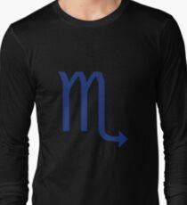 Scorpio Star Sign Long Sleeve T-Shirt