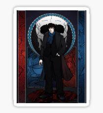 Sherlock Nouveau: Sherlock Holmes Sticker