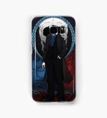 Sherlock Nouveau: Macabre Sherlock Holmes Samsung Galaxy Case/Skin