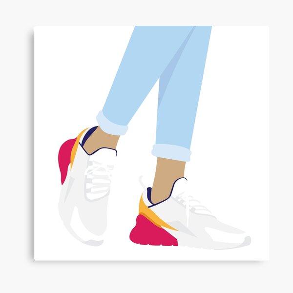 Nike Air 270 Illustration Canvas Print