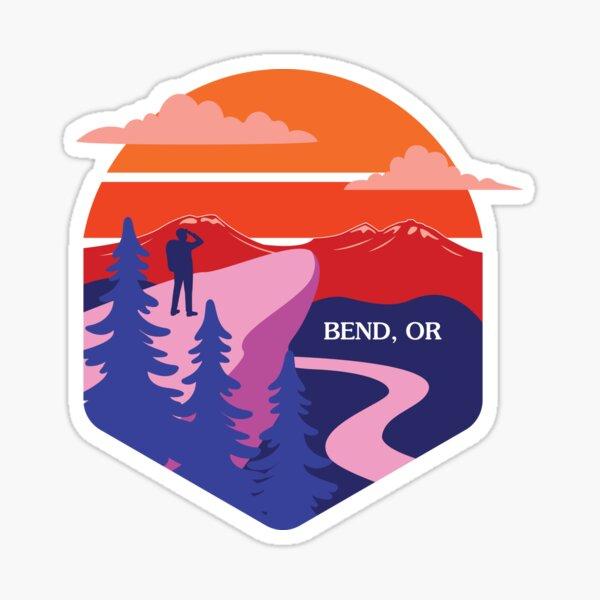 I ❤ Bend Sticker