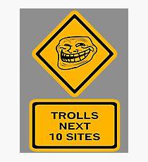 Trolls - sites Photographic Print