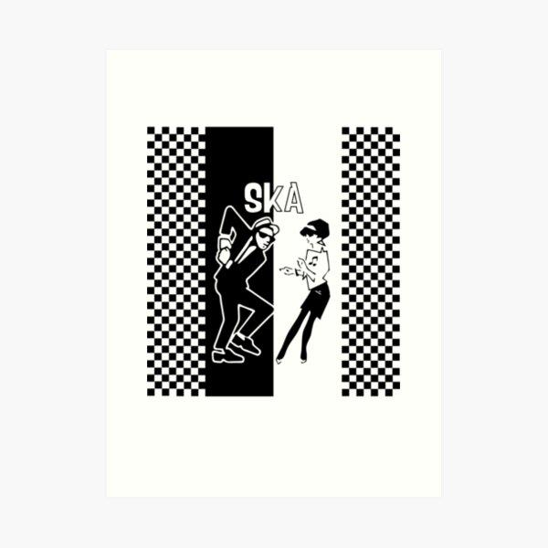 Ska Dance Art Print