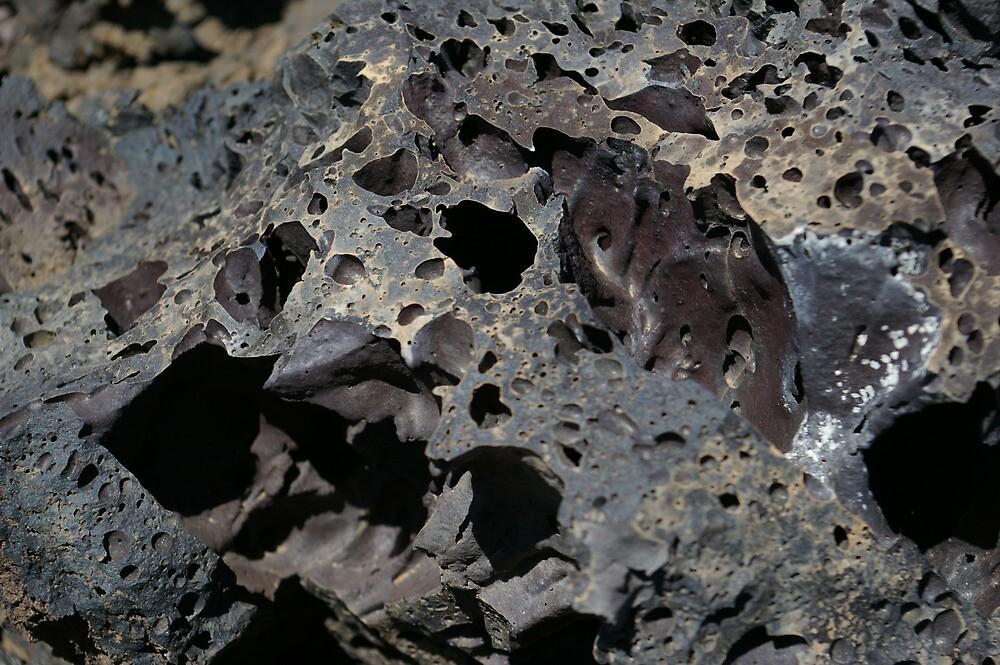 Lava Rock by Dinorah Imrie