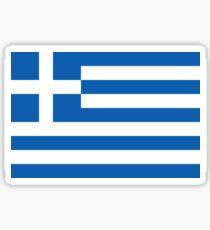 Pegatina Camiseta griega de la bandera nacional - Grecia Pegatina
