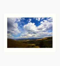 Lamar Valley Art Print