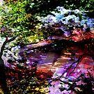 MONET ZEN GARDEN by SherriOfPalmSprings Sherri Nicholas-