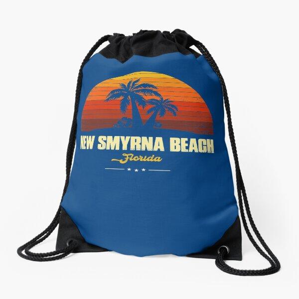 New Smyrna Beach Florida Drawstring Bag