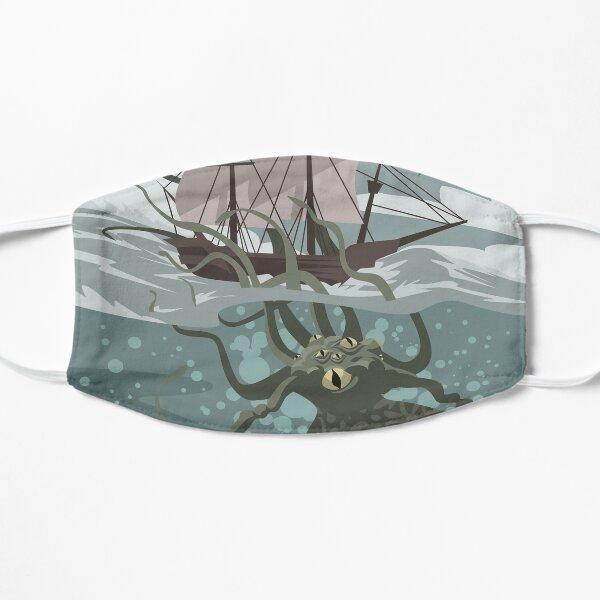 kraken eating a ship Mask