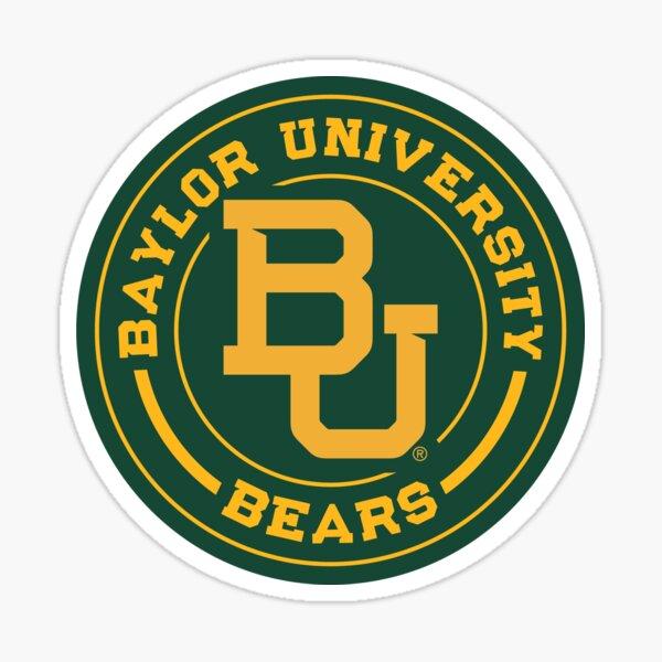 Baylor University Circle Sticker