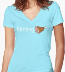 Birmingham Women's Fitted V-Neck T-Shirt