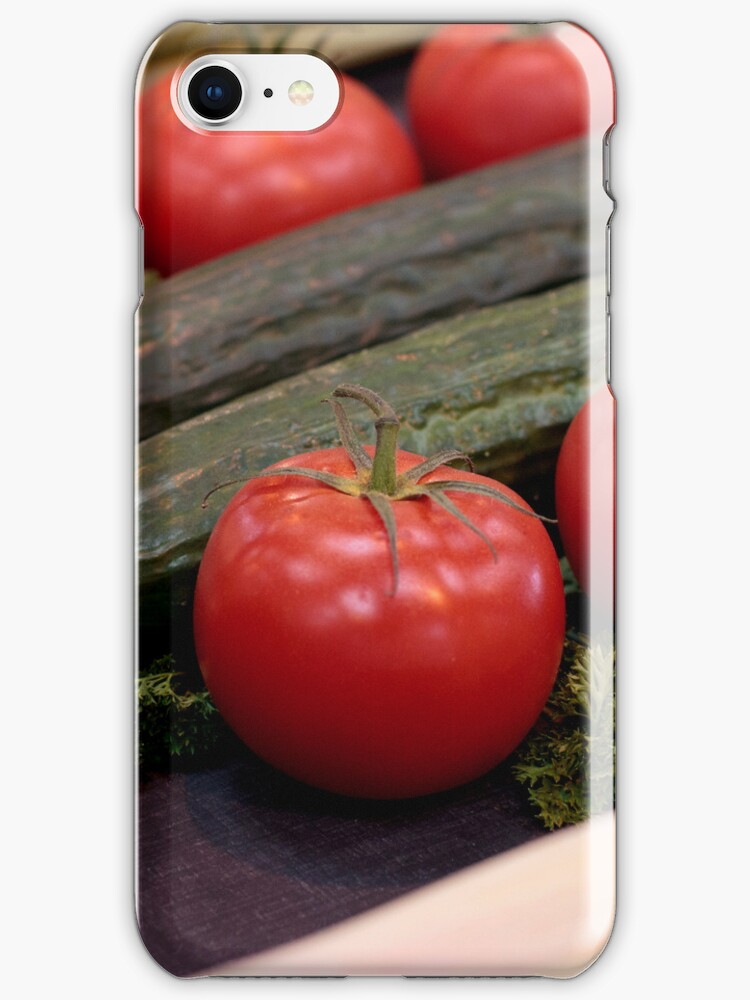 Vegetables! iPhone cover by Martyn Franklin