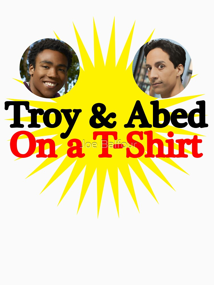 Troy and Abed on a T-Shirt | Unisex T-Shirt