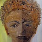 Face of a lady by Linda Ridpath