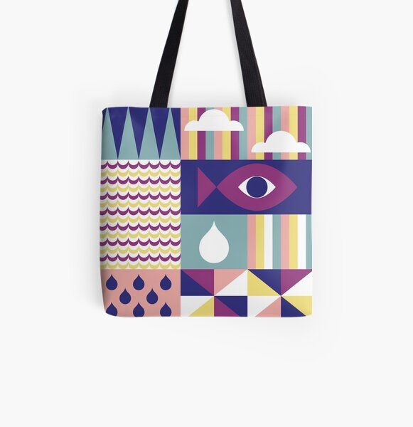 Color Party II All Over Print Tote Bag
