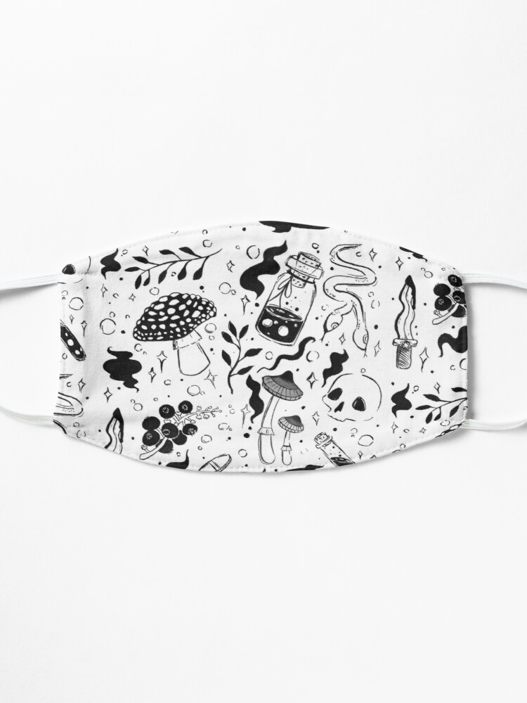 Alternate view of Poison Pattern Mask