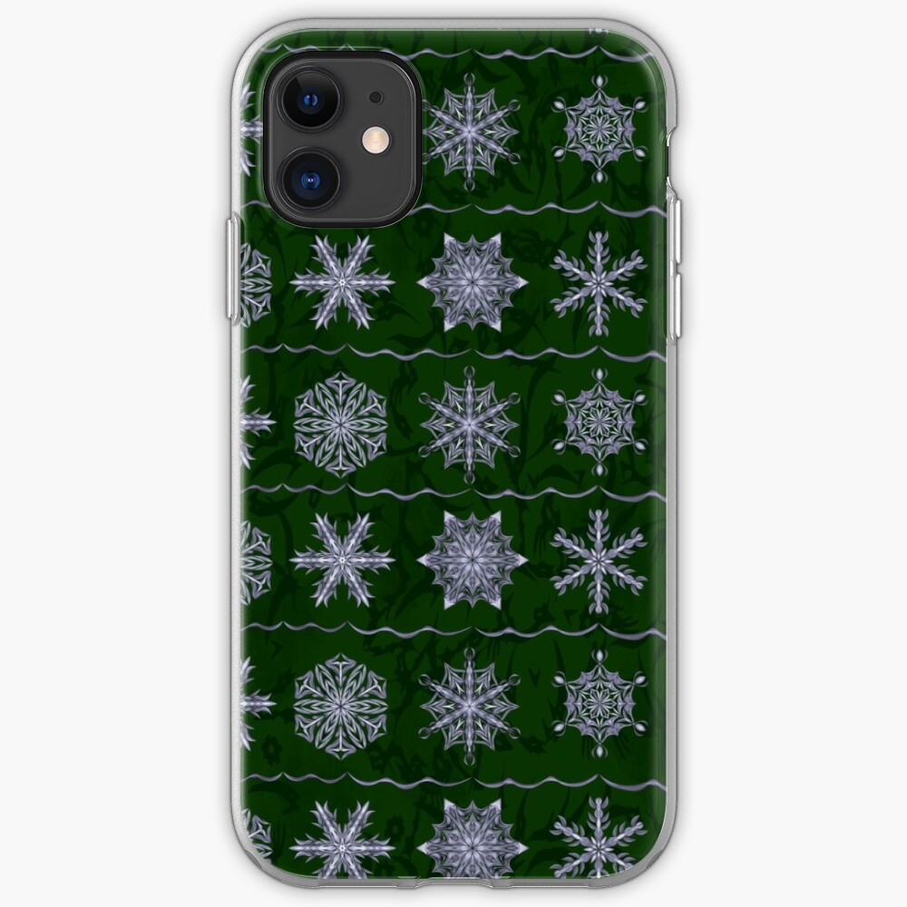 Silver Forest Flakes iPhone Case & Cover