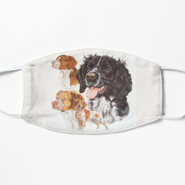 Brittany Spaniel Montage Mask