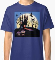 Haunted Halloween Castle 2 Classic T-Shirt
