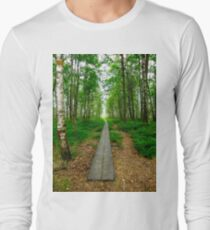 The beggining of a journey Long Sleeve T-Shirt