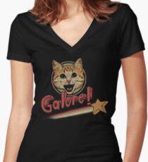 PSA Lol Women's Fitted V-Neck T-Shirt