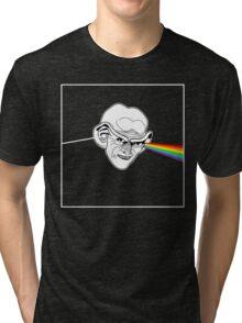 The Worst Pink Floyd / Star Trek Pun Ever Tri-blend T-Shirt