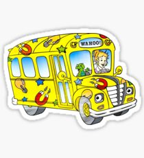The magic school bus Sticker