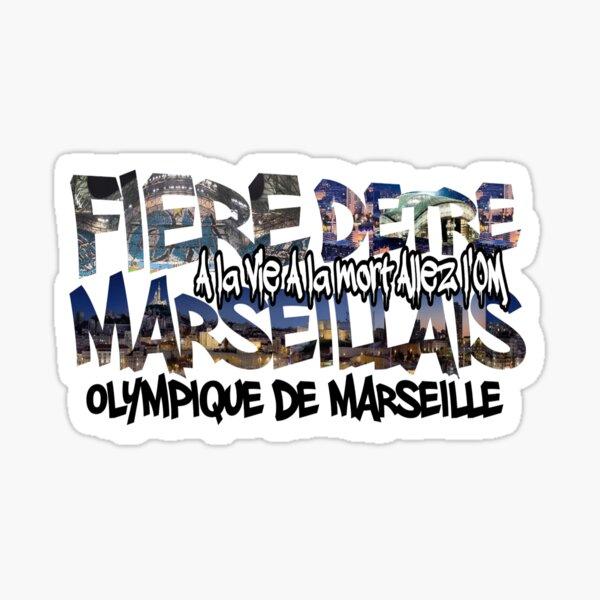 Fière d'être Marseillais Sticker