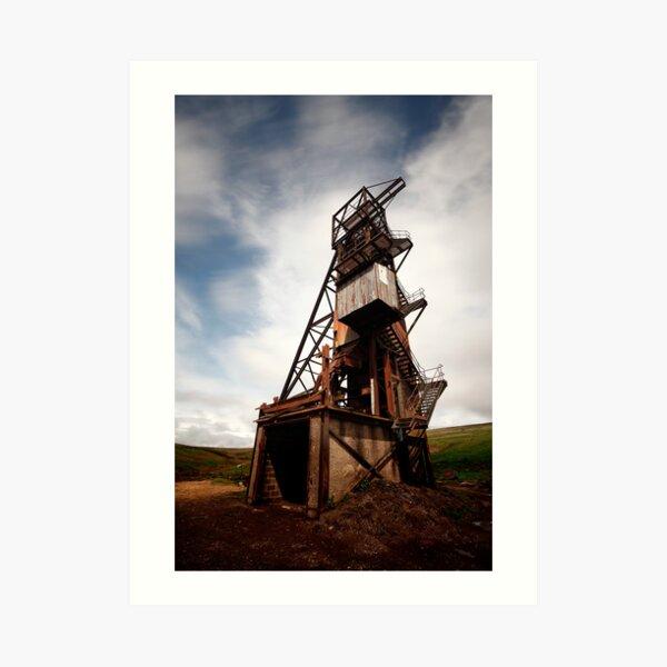 Rookhope, abandoned mine Art Print