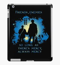 FRIENDS,ENEMIES.... iPad Case/Skin