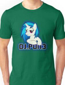 Vinyl Scratch aka. DJ.PON3 v2. Unisex T-Shirt