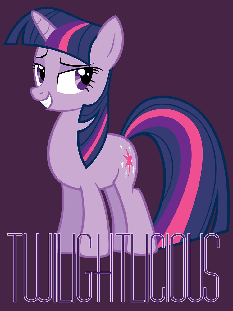 Twilight Sparkle is oh so Twilightlicious | Unisex T-Shirt