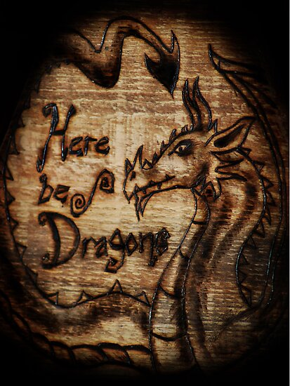 Here be Dragons! by TheCroc1979
