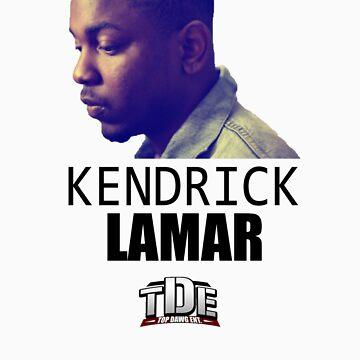 Kendrick Lamar by FunDorm