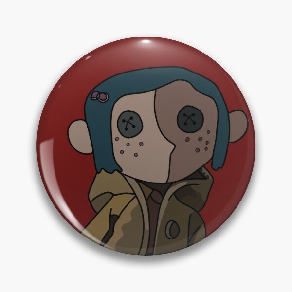 Coraline Eyes Pins And Buttons Redbubble