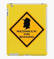 Redneck on Board (diamond) iPad Case/Skin
