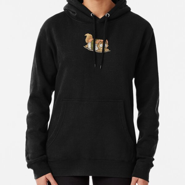 Uh-oh Sushi Cat! Pullover Hoodie