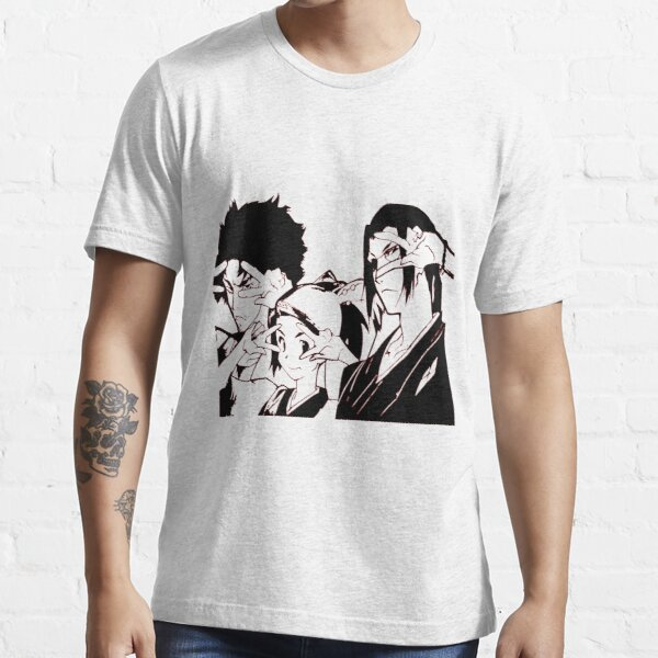 Mugen Jin and Fuu Samurai Champloo Essential T-Shirt