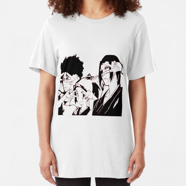 Mugen Jin and Fuu Samurai Champloo Slim Fit T-Shirt