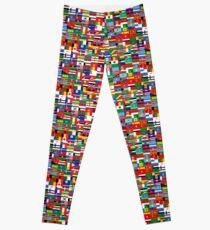 World Flags Leggings