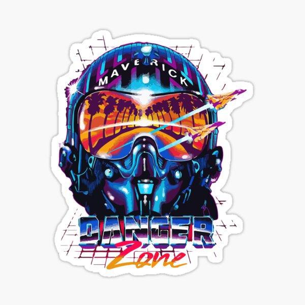 Maverick Danger Zone Sticker