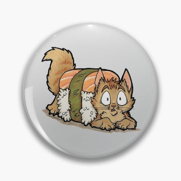 Uh-oh Sushi Cat! Pin