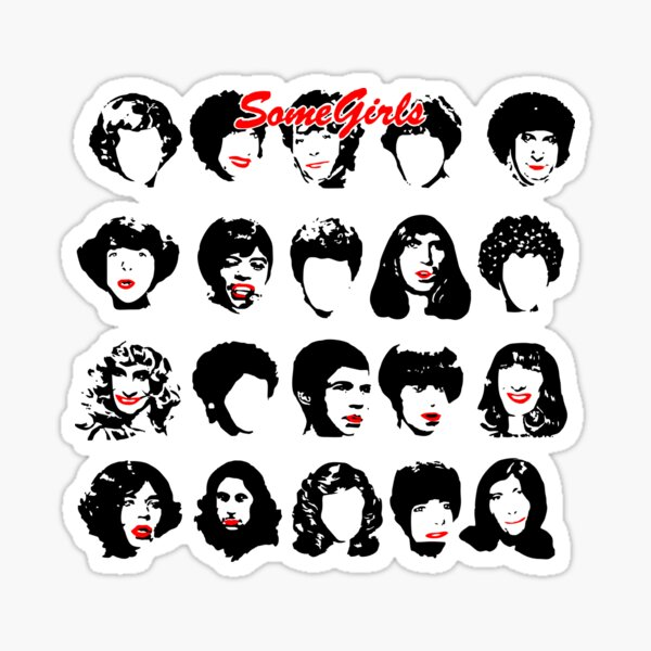 Filles - Pierres Sticker