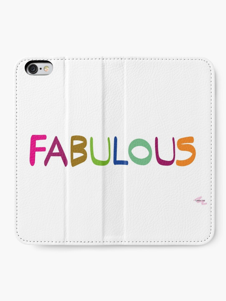 Alternate view of FABULOUS iPhone Wallet