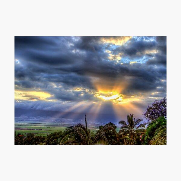 Pukalani - Hole in the Heavens #1 Photographic Print