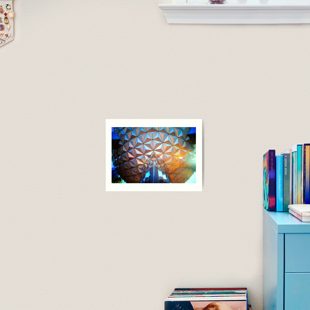 Spaceship Flare Art Print