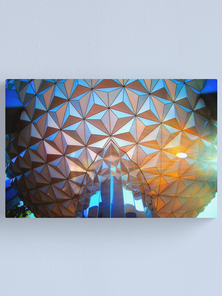 Alternate view of Spaceship Flare Canvas Print